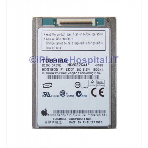 Hard Disk 60 GB MK6022GAA per iPod Classic 6 th