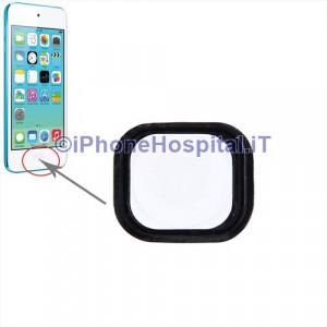iPod Touch 5th gen Tasto Home Colore Bianco con Membrana e spessore Metallico