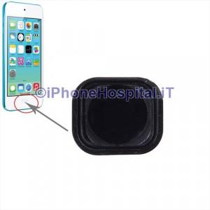 iPod Touch 5th gen Tasto Home Colore Nero con Membrana e spessore Metallico