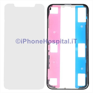 Supporto Bordino Bezel per Schermo LCD con lamiera per iPhone X