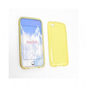 Custodia in silicone Ipod Touch 4Generazione Giallo