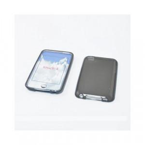 Custodia in silicone Ipod Touch 4Generazione Nero