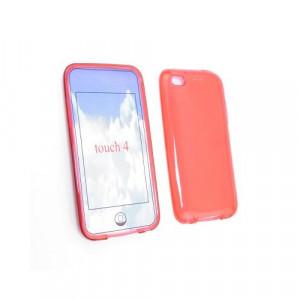 Custodia in silicone Ipod Touch 4Generazione Rosso