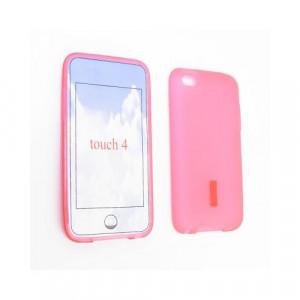 Custodia in silicone Ipod Touch 4Generazione Rosa
