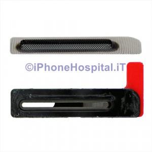 Retina Griglia Antipolvere Gommino Foro Altoparlante Cassa Anteriore iPhone 6/6P