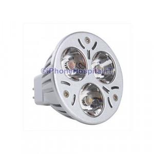 Lampadina LED luce bianca GU5.3 3W 270LM 6400K (12V)