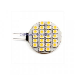 Lampadina a 24-LED, luce bianca/calda 50-60LM G4 SMD