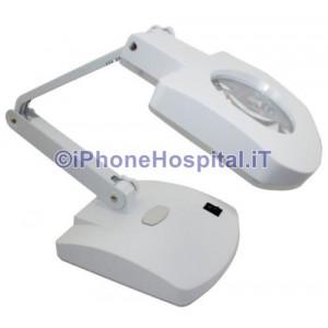 Lente d'ingrandimento 3X / 8X Desk 3.5W LED Lampada - 220V riparazione Telefono Cellulare