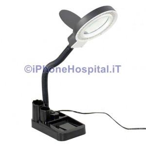 Lente d'ingrandimento da Tavolino Con lampada HD LED per riparazione di Telefono Cellulare