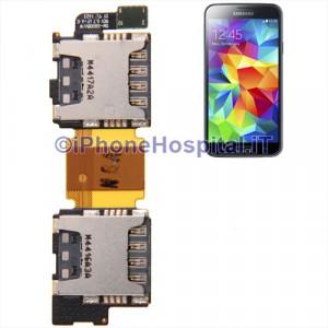 Lettore doppia Sim Card per Samsung Galaxy S5 i9600 G900D