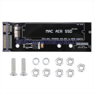 Scheda adattatore SSD SATA 6 +12 pin A1369 A1370 A1375 A1377 Macbook Air 2010/11