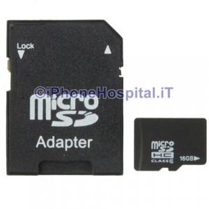 Micro SD (TF) 16GB Scheda di Memoria Classe