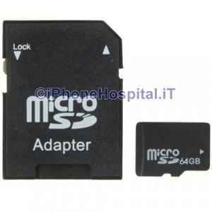 Micro SD (TF) 64GB Scheda di Memoria Classe 10