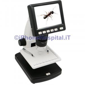 Microscopio con Schermo Digitale Portatile 500 x