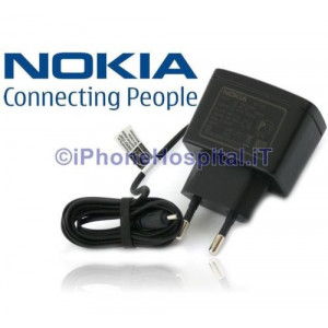 Nokia Caricatore Caricabatterie Originale da Parete AC-3E AC3E