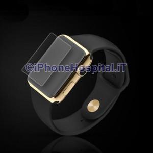 Pellicola per Apple Watch 38mm Proteggi Schermo Vetro Temperato Protettiva 0,2mmPellicola per Apple Watch 38mm Proteggi Schermo Vetro Temperato Protettiva 0,2mm