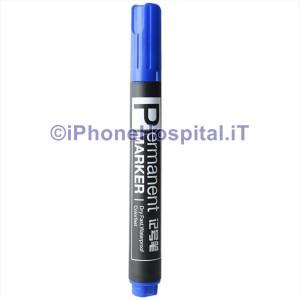 Pennarello Marcatore Permanente Blue