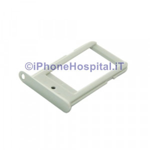 Porta Sim Bianco per Samsung Galaxy S6 EDGE G925