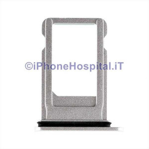 Porta Sim Card Slot Vassoio Micro Scheda Sim Tray Argento ( Silver ) per Apple iPhone 8