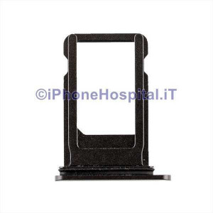 Porta Sim Card Slot Vassoio Micro Scheda Sim Tray Nero per Apple iPhone 8