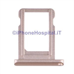 Porta Sim Schedina Colore Oro per iPad Mini 4 (A1538-A1550)