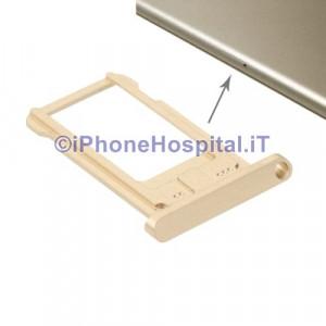 Porta Sim Schedina Oro per Apple iPad 6 Air 2 (A1474,A1475)