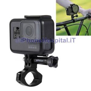 Supporto Bici & Moto in Aluminio per GoPro HERO 6 /5 /5/4 /4 /3+ /3 /2 /1