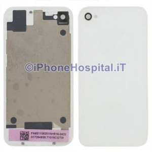 Retro Cover Bianco iphone 4G