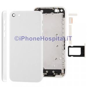 Retro Cover Bianco per iPhone 5C