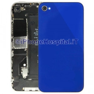 Retro Cover Blue iphone 4G