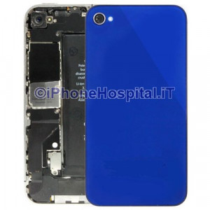 Retro Cover Blue iphone 4S