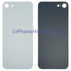 Retro Cover Copri Batteria Fondello Bianco per iPhone 8