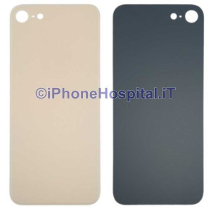 Retro Cover Copri Batteria Fondello Oro ( Gold ) per iPhone 8