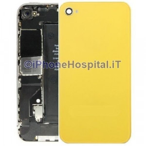 Retro Cover Giallo iphone 4S