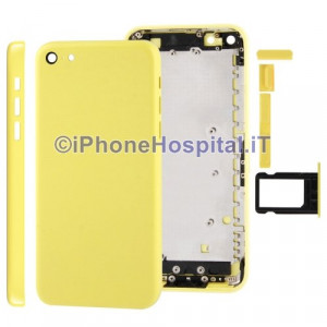 Retro Cover Giallo per iPhone 5C