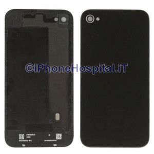 Retro Cover Nero per Apple iPhone 4S (A1387)