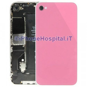 Retro Cover Pink per iPhone 4S