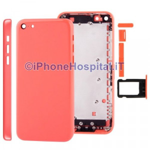Retro Cover Rosa ( Pink ) per iPhone 5C