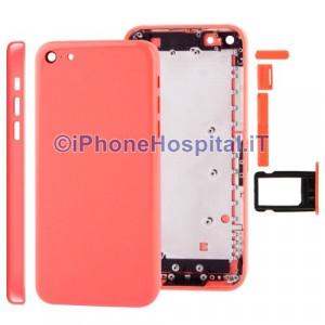 Retro Cover Rosa ( Pink ) per iPhone 5C