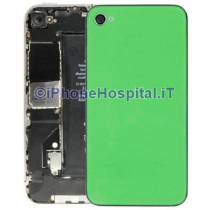 Retro Cover Verde iphone 4G