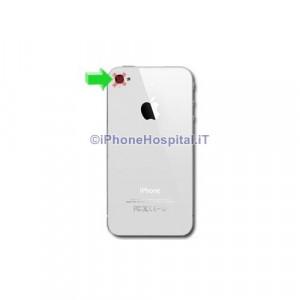 riparazione fotocamera posteriore apple iphone 4