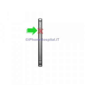 Riparazione iPhone 4G tasto Volume, Mute, On-Off