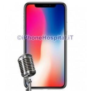 Riparazione Microfono iPhone X (A1865, A1901, A1902)