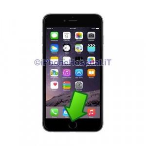 Riparazione Sostituzione Tasto HOME iPhone 6S (A1634, A1687, A1699) No Touch ID