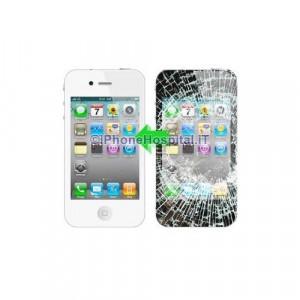 Riparazione vetro iphone 4 Bianco