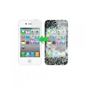 Riparazione Touch+LCD iPhone 4S BIANCO