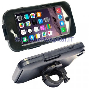 iPhone 6 Custodia con Supporto Bicicletta e Moto in ABS Impermeabile