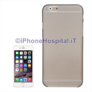 Custodia Protettiva Ultra Sottile Grigio Scuro Opaco per iPhone 6 Plus e 6SPlus