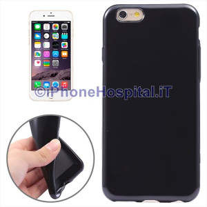Custodia Protettiva in TPU per iPhone 6 Plus e 6S Plus (Nero)