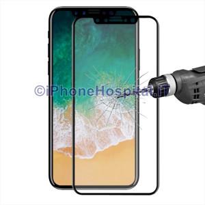Schermo Protettivo a Prova Esplosione Curvato Oleofobico per Apple iPhone X